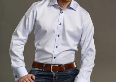 pánská košile na míru